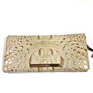 NWT Brahmin Ady Satin Melbourne Wallet Leather
